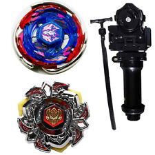Beyblade Metal Masters BB-105 And BB-114 Metal Fusion POISON L-Drago+launcher