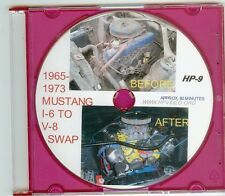 """1965 1966 1967 -73 Ford Mustang 302 351 V8 Engine Conversion How to Video! """"DVD"""""""