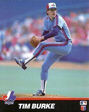 # TIM BURKE 8x10 ACTION PHOTO Major League Baseball MONTREAL EXPOS #44 All-Star