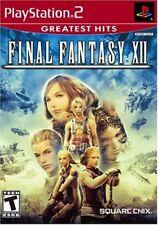 NEW Final Fantasy XII 12 (PlayStation 2, 2006) NTSC