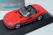MINICHAMPS * DODGE VIPER CABRIOLET * 1993  * OVP * 1:43  * RED