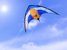 PROFESSIONAL 50M DUAL 2 LINE CONTROL DELTA SPORT STUNT KITE OUTDOOR FLY HIGH