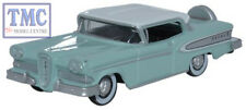 87ED58005 Oxford Diecast HO Gauge 1958 Edsel Citation Ice Green/Snow White