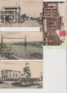 Old Postcard Lot of 8 Spain Valencia Exhibition  Bilbao