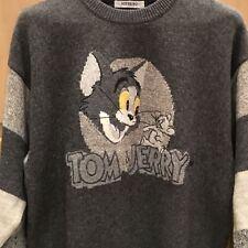 Iceberg Vintage Gray Tom and Jerry XL Crewneck Sweater