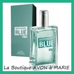Individual Blue Free Eau Of Toilette for Man IN Vapo 100ml Avon New