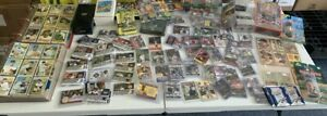 SPORTS CARDS LOT-5 LBS-ALL FOUR MAJOR SPORTS AND MORE 1960'S-2017- FREE SHIPPING