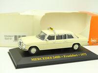 Ixo 1/43 - Mercedes 240 D Taxi Frankfurt