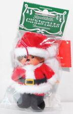 Monchhichi 254800E Christmas Decoration Santa Claus Anhänger, 10 cm, Sekiguchi