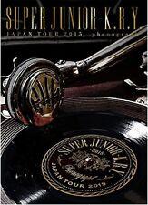 KPOP SUPER JUNIOR-K.R.Y. JAPAN TOUR 2015 - phonograph- First Press [Promo]