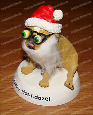 Happy Hol-i-daze! 2004 Christmas Decor (ZELDA WISDOM by Westland, 4877) Bulldog