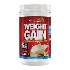 1 PACK-Naturade All-Natural Weight Gain, Vanilla, 24 Serving Exp.09/2022