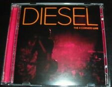 Johnny Diesel ‎– The 4 Corners Live CD DVD Edition – New (Not Sealed)