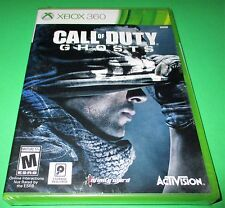 Call of Duty: Ghosts Microsoft Xbox 360 *Factory Sealed! *Free Shipping!