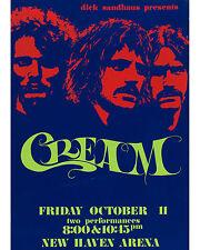Cream - 1968 Concert Poster - 8x10 Color Photo