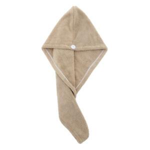 Turban Towels  Hair Quick Dry Microfiber Bath Towel Hair Wrap Cap Hat Spa