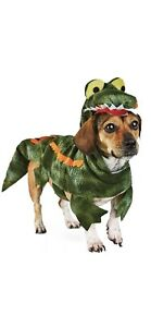 Bootique Snappy Gator Dog Costume Green Alligator