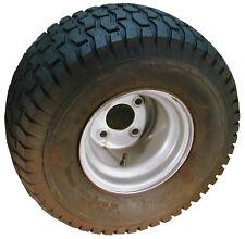 2 New Turf Tread 18 x 9.50-8 Tire 4-Ply Tubeless Tire & Wheel Lawn Mower Tractor