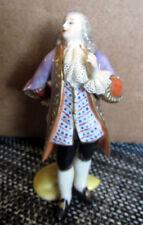 Vintage Aelteste Volkstedter Dresden Court Gentleman Porcelain Figurine Mint - 2