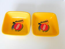 2 x Weetabix 70th Anniversary Cereal Bowls
