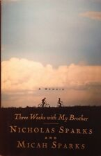 Three Weeks with My Brother Nicholas Sparks HardBack Book NEW 1st VF