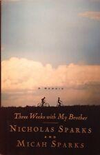 Three Weeks with My Brother Nicholas Sparks HardBack Book NEW 1st VF