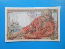 20 francs pêcheur 12-2-1942 F13/1 SPL