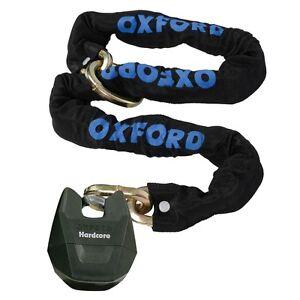 Oxford Hardcore Xl Motorbike Motorcycle Motocross Quad Chain Loop Lock  1.5m