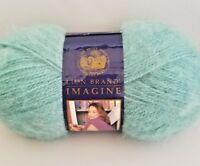 Lion Brand Yarn Imagine Mohair Blend Acrylic 222 Yds /  2.5 oz. Color #171 Moss