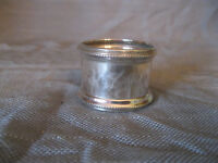 Serviettenring, 925 Sterling Silber, England, Makers Mark, um 1920