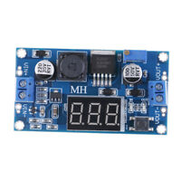 LED Voltmeter DC-DC 4.5-32V to 5-52V XL6009 Boost Step-up Module Power Supply HF