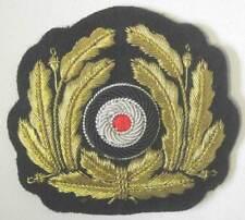 5ce65c2fec0 German Kriegsmarine Cap Badge Wreath WW2 Officers Bullion WWII Kranz Navy  u-Boat