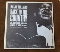 "1964 Big Joe Williams ""Back to the Country"" LP - Testament Records (T-2205) EX"