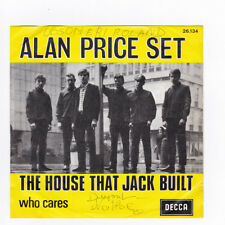 SP 45 TOURS ALAN PRICE SET THE HOUSE THAT JACK BUILT DECCA 26.134 BELGIQUE 1967