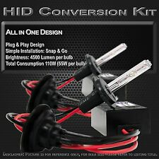 Stark 55W HID Lights Slim Xenon All-in-1 Head Light Kit - H7 10000k 10k Blue (B)