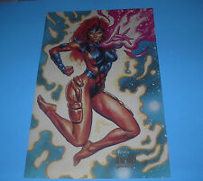 MARVEL COMICS X-MEN JEAN GREY POSTER PIN UP JUSKO