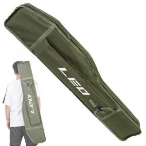 Folding Fishing Rod Case Portable Fishing Rod Carrier Fishing Tool Storage Bag