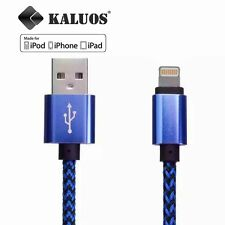 Original Kaluos USB Cable for iPhone 7 6S 6 5S 5 5C iPad Air Data Charger Cord