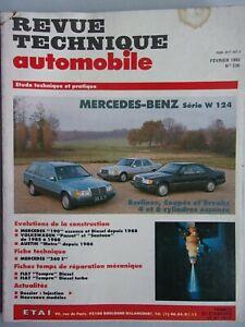 Revue Technique Automobile:MERCEDES-BENZ W 124-Austin Metro: n°536 de 1992