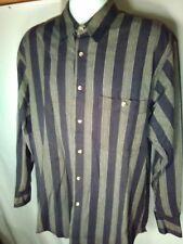 Mens Nino Cerruti sport  dress shirt size large