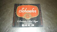 1950s Unused Schaefer Beer Magic Holetite trick pencil string
