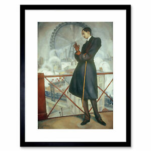 Painting Portrait Rivera Director Adolfo Maugard Framed Art Print 12x16 Inch