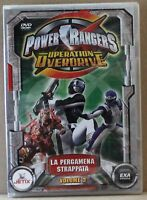 Power rangers operation overdrive - la pergamena strappata volume 3 - dvd - exa