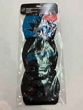 SAN JOSE SHARKS 3 PACK FACE MASK COVERS - REUSABLE WASHABLE W/ COTTON LINING