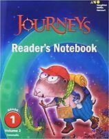 Grade 1 Journeys Readers Notebook Volume 2 Student Edition 2017 1st