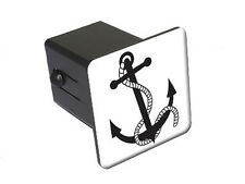 Anchor and Rope - Ship Boat - Tow Trailer Hitch Cover Plug Truck Pickup RV
