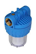 """Wasserfilter Feinfilter Vorfilter AMG klein (5 Zoll) mit Anschlussgewinde 1"""""""