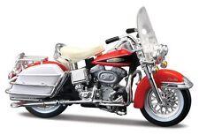 Maisto 1/24 1968 FLH Electra Glide Harley Davidson Motor Bike Diecast