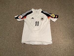 🇩🇪 Germany MATCH WORN ISSUED Home Football Shirt 2004 MIROSLAV KLOSE Adults L