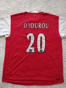 Nike Arsenal Johan Djourou #20 Soccer Jersey Football Shirt 2006/07 London